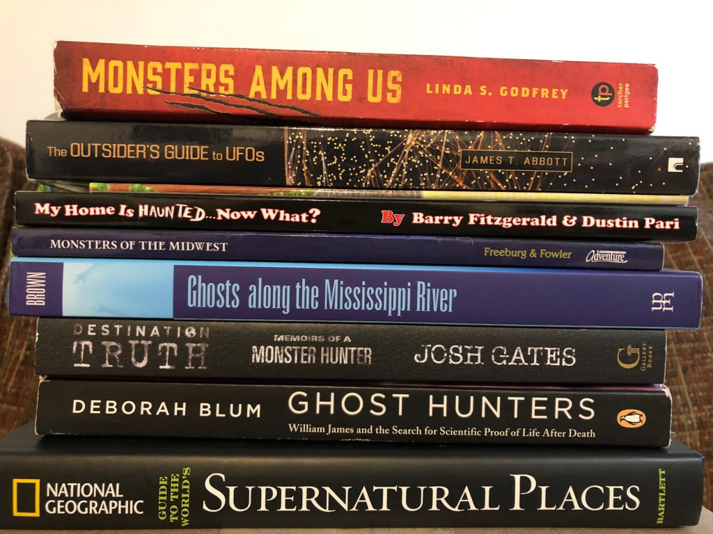 Paranormal Book Recommendations