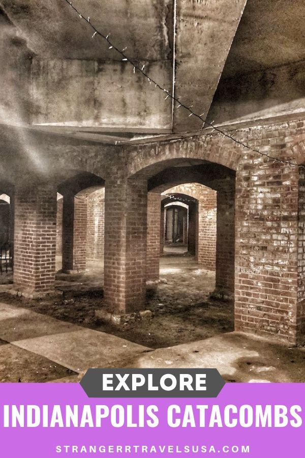 Explore the Indianapolis Catacombs to learn about there interesting history and ghostly stories.